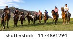 issyk kul  kyrgyzstan   may 28  ... | Shutterstock . vector #1174861294