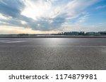panoramic skyline and modern...   Shutterstock . vector #1174879981