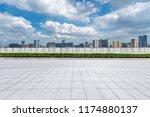 panoramic skyline and modern...   Shutterstock . vector #1174880137