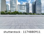 panoramic skyline and modern... | Shutterstock . vector #1174880911