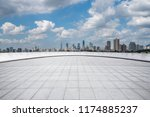 panoramic skyline and modern... | Shutterstock . vector #1174885237