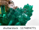 raw emerald and gemstone rough... | Shutterstock . vector #1174894771