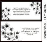 romantic wedding invitation...   Shutterstock .eps vector #1174900507