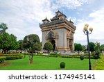 vientiane  laos   august 14... | Shutterstock . vector #1174945141