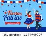 fiestas patrias   independence... | Shutterstock .eps vector #1174949707