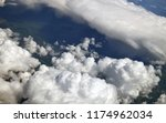 see of a cumulus clouds from... | Shutterstock . vector #1174962034