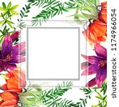 frames for congratulation with ...   Shutterstock . vector #1174966054
