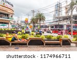 patong  thailand   9th august... | Shutterstock . vector #1174966711