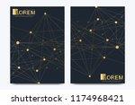 modern vector template for... | Shutterstock .eps vector #1174968421