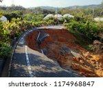 Typhoon Induced Landslide.