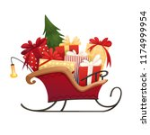 Santa\'s Sleigh With Christmas...
