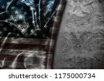 usa flag vintage background | Shutterstock . vector #1175000734