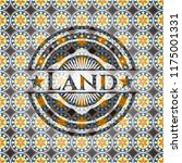 land arabic badge background.... | Shutterstock .eps vector #1175001331