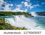 niagara falls waterfall | Shutterstock . vector #1175005057