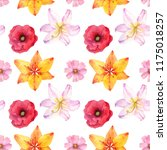 seamless pattern with...   Shutterstock . vector #1175018257