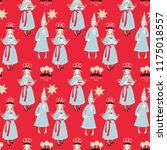 saint lucy s day. st. lucia... | Shutterstock .eps vector #1175018557