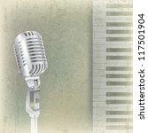 abstract grunge music... | Shutterstock . vector #117501904