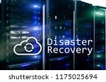 disaster recovery. data loss... | Shutterstock . vector #1175025694