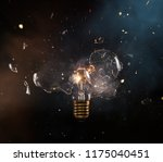 real explosion of vintage... | Shutterstock . vector #1175040451
