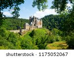 side view of the eltz castle ... | Shutterstock . vector #1175052067