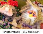 flea market   folk crafts.... | Shutterstock . vector #1175086834