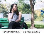 concept relaxes time.... | Shutterstock . vector #1175118217