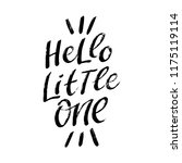 hand drawn lettering phrase... | Shutterstock .eps vector #1175119114