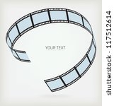 film strip on a white background | Shutterstock .eps vector #117512614