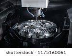 metalworking cnc milling... | Shutterstock . vector #1175160061