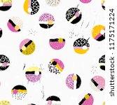seamless background pattern ...   Shutterstock .eps vector #1175171224