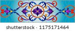 illustration in stained glass... | Shutterstock .eps vector #1175171464