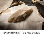 an arrowhead made from... | Shutterstock . vector #1175199337
