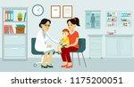 pediatrician doctor concept.... | Shutterstock .eps vector #1175200051