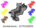 pays de la loire  france ... | Shutterstock .eps vector #1175218504