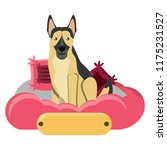 cute dog design | Shutterstock .eps vector #1175231527