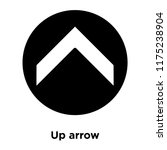 up arrow icon vector isolated...