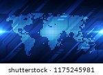 vector digital global...   Shutterstock .eps vector #1175245981