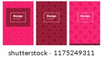 light red vector template for...