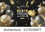 black friday sale background... | Shutterstock .eps vector #1175250877