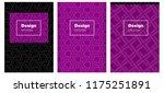 dark pink vector layout for...   Shutterstock .eps vector #1175251891