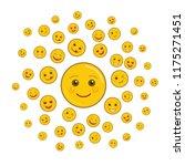 world smile day holiday art... | Shutterstock .eps vector #1175271451