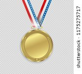 award medals isolated on... | Shutterstock .eps vector #1175275717