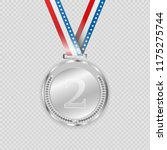 award medals isolated on... | Shutterstock .eps vector #1175275744