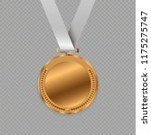 award medals isolated on... | Shutterstock .eps vector #1175275747