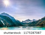 alaska cruise glacier bay... | Shutterstock . vector #1175287087