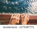 cruise travel honeymoon married ... | Shutterstock . vector #1175287771