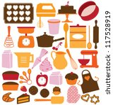 icons  symbols and graphic... | Shutterstock .eps vector #117528919