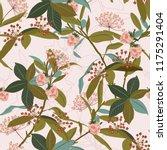beautiful seamless patterrn of... | Shutterstock .eps vector #1175291404