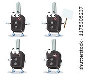 set of cartoon remote ignition... | Shutterstock .eps vector #1175305237