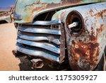 abandoned vintage car wrecks at ... | Shutterstock . vector #1175305927